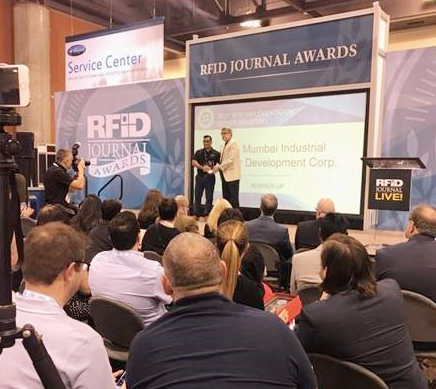 "DLDS received ""Best RFID Implementation Award"" at RFID Journal Awards"