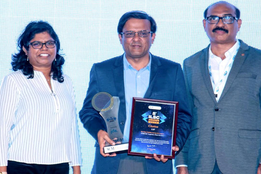 DLDS received 5th ILSC Awards, in the category - Best Supply Chain Visibility Award
